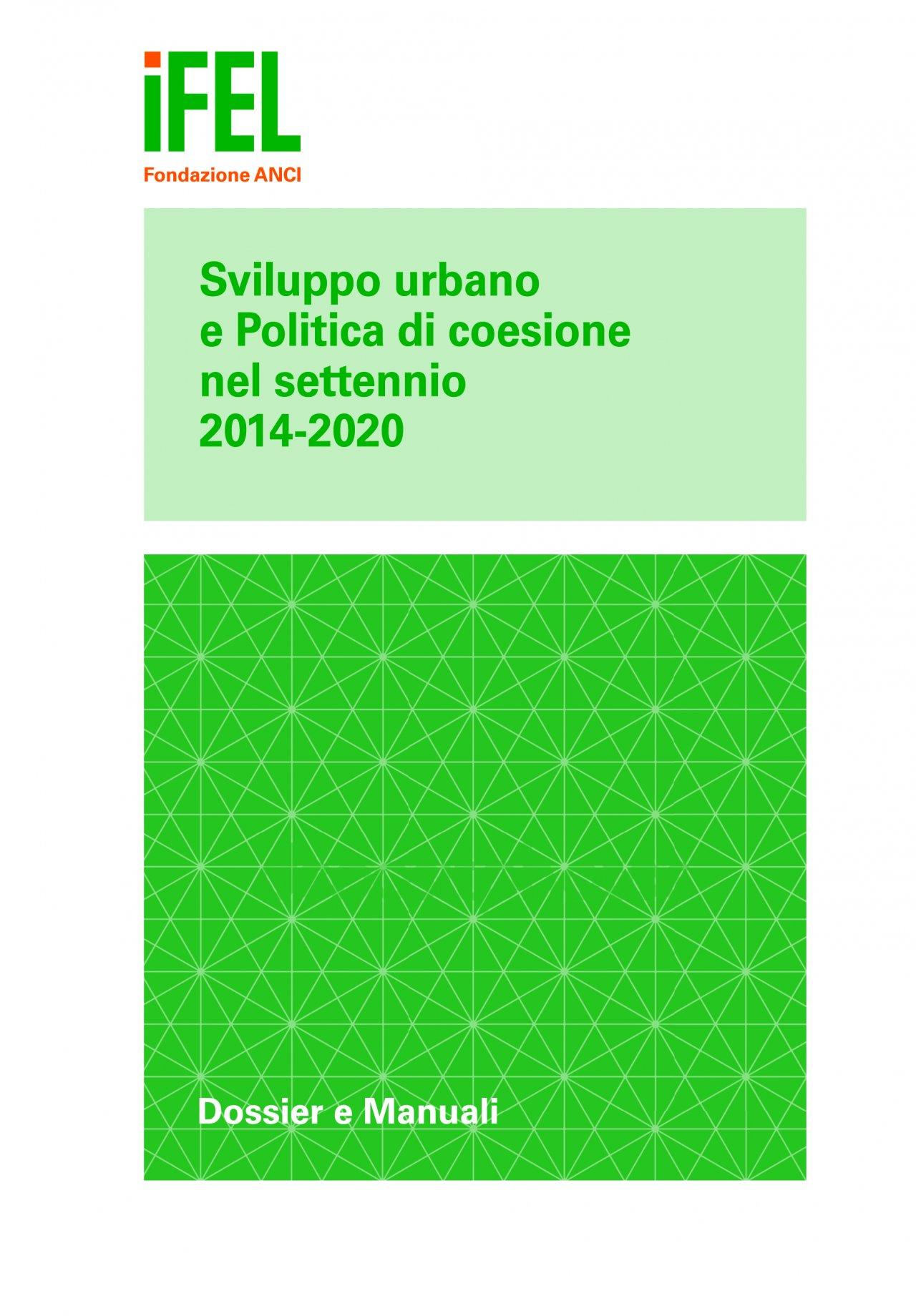 """Stato di avanzamento delle """"agende urbane regionali"""" 2014-2020"""