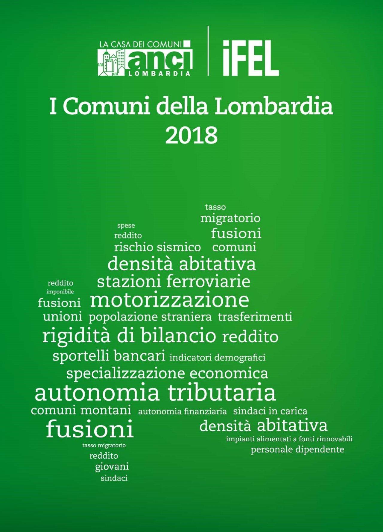 I Comuni della Lombardia 2018